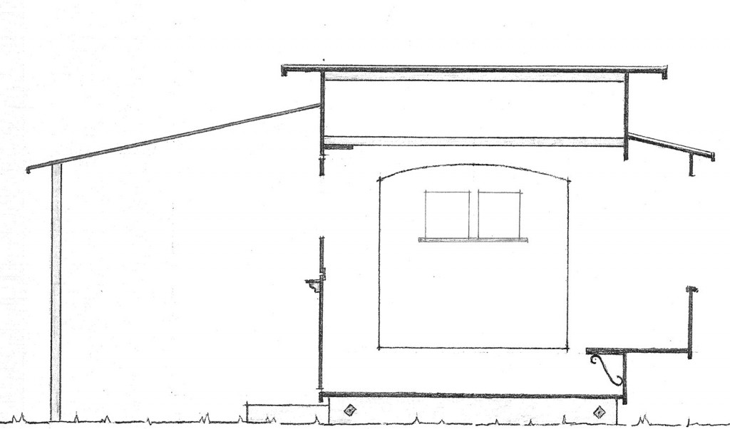 Plans drawings bodega portable buildings for Portable house plans